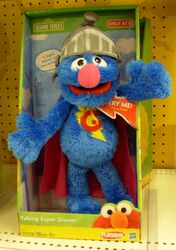 Talking super grover playskool 2011