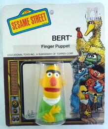 Topper 1971 bert finger puppet b