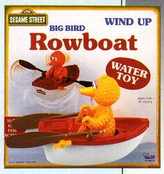 Big bird rowboat 2