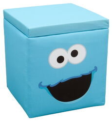 Delta children's products 2011 cookie monster ottoman