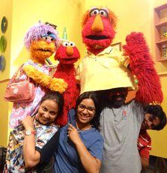 Elmo's Family on Galli Galli Sim Sim
