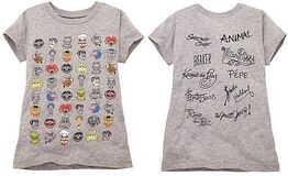 Faces Tee for Girls