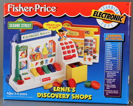 Fisher-price electronic ernie's discovery shops