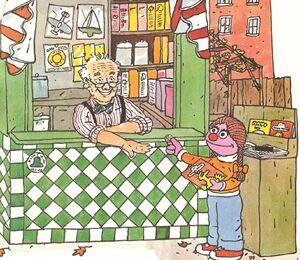 Sesame street magazine hoopers store people neighborhood book