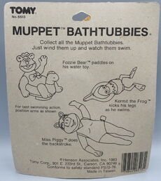 Tomy fozzie bear bathtubbies 4
