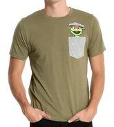 Boxlunch sesame street oscar the grouch pocket t-shirt