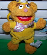 Clip toy play muppet babies clip-on plush fozzie 1