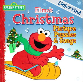 Elmo's Christmas Picture Puzzles & Songs