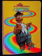 Stuart hall 1979 notebook fozzie bear