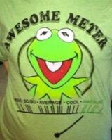 Tshirt-kermit-awesome-meter
