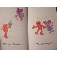 Elmo is red cookie is blue 2