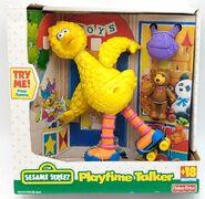 Fisher-price 2000 playtime talker big bird talking toy radar 1