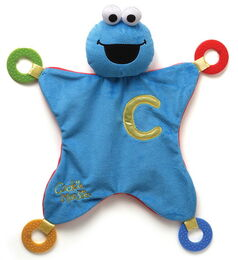 Gund activity blankie cookie monster