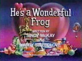 Hesawonderfulfrog
