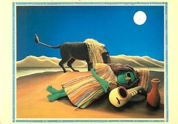 Kermitage postcard zoot