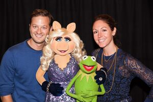Kyle Laughlin Kermit Piggy Jennifer Bartlett Laughlin