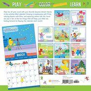 Sesame 2019 calendar 2