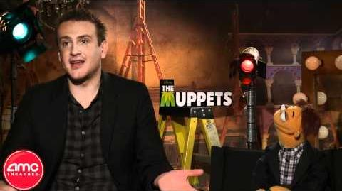 THE MUPPETS stars Jason Segel and Walter Talk With AMC