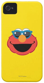 Zazzle elmo smiling face with sunglasses