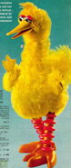 Big bird puppet topper