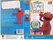 Elmos World Australian 1998 VHS