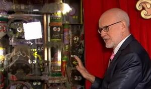 Frank oz with muppet closet