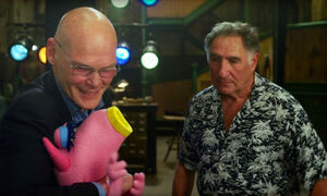 James Carville and Judd Hirsch