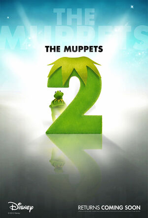 Muppets 2 movie poster 1