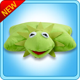 PillowPetsSquare Kermit1NEW