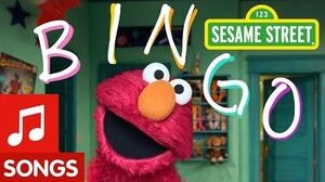 Sesame Street Bingo Elmo's Sing Along