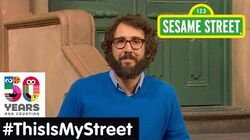 Sesame Street Memory Josh Groban ThisIsMyStreet
