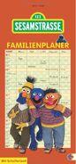 Sesamstrasse family planner 2014