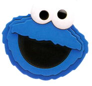 Fisher price 1998 stacking puzzle cookie monster