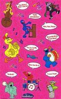 SesameStreetMusicStickersSandylion