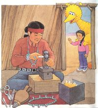 Sally (Big Bird Visits Navajo Country)