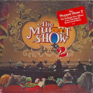 The Muppet Show 2 LP packaging sticker