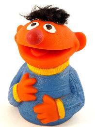 Topper 1971 ernie finger puppet a