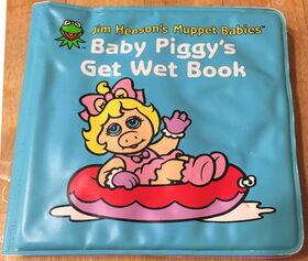 Baby piggy get wet 1