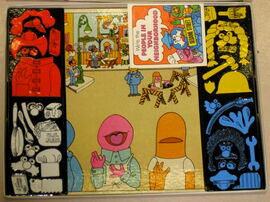 Colorforms 1972 people in your neighborhood 2
