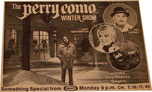 Perrycomowintershow tv guide ad
