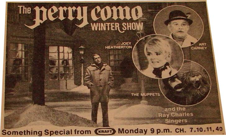 the perry como winter show - Perry Como Christmas Show