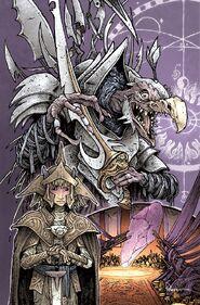 Power of the Dark Crystal 01 David Petersen cover textless