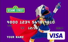 Sesame debit cards 42 super grover