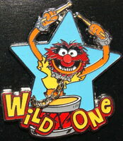 Disney pin wild one