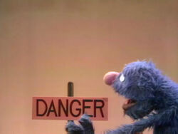 Grover danger sign