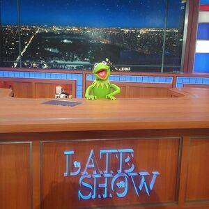 Late Show Kermit