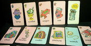 Milton bradley 1976 oscar the grouch card game 3