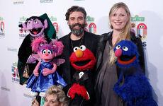 2019 Sesame Gala Oscar Isaac and Elvira Lind