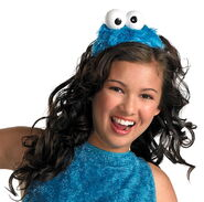 Disguise 2012 headband cookie monster