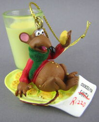 Disney rizzo christmas ornament